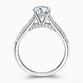 f959558c8bb7 Кольцо с бриллиантом, помолвочные кольца из белого золота с якутским ...
